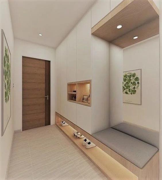 thay mới lối vào căn hộ chung cư