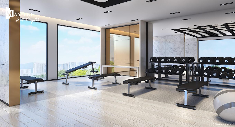 Phong gym Masteri West Heights Vinhomes Smart City Masterise Homes Tay Mo