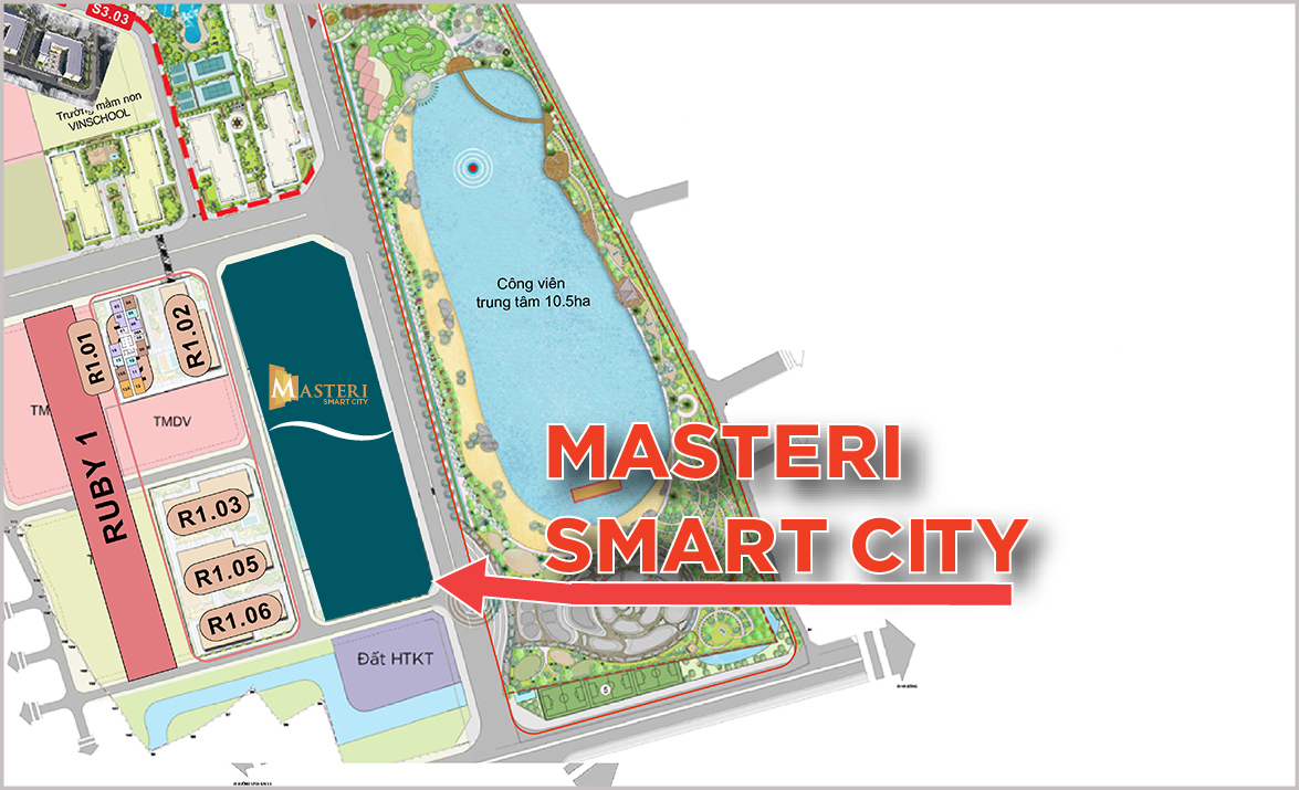 Masteri West Heights Vinhomes Smart City Tay Mo OneHousing